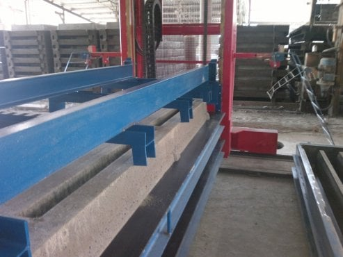 Slat Casting Machine