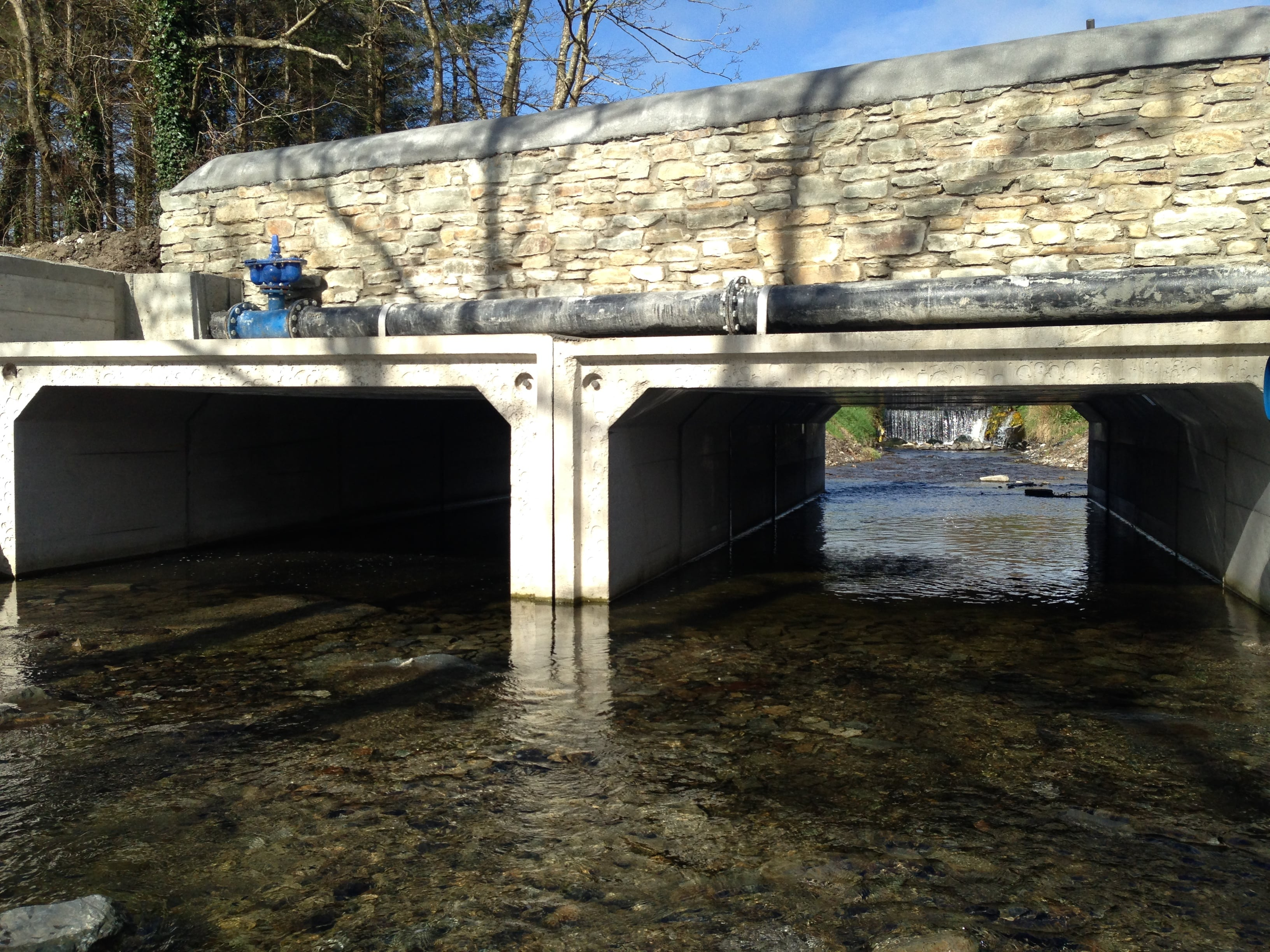 Parallel Box Culverts Provide Solution