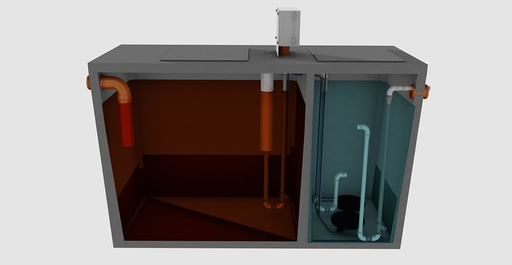 CE certified treatment tank