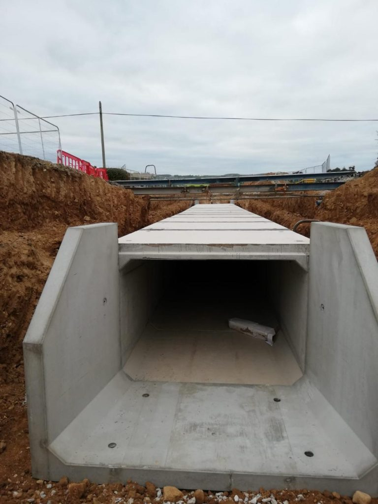 New Cattle Underpasses Installed This Past Week On The N72 In Co.cork
