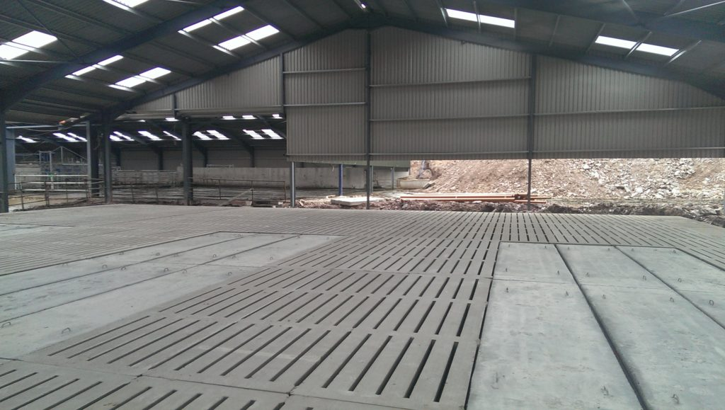 Precast Concrete Cattle Slats for Housing Livestock