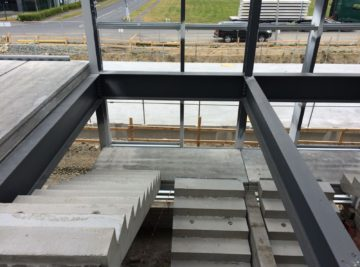 Pre-Cast Concrete Stairs and Landing Units - Croom Concrete Ireland