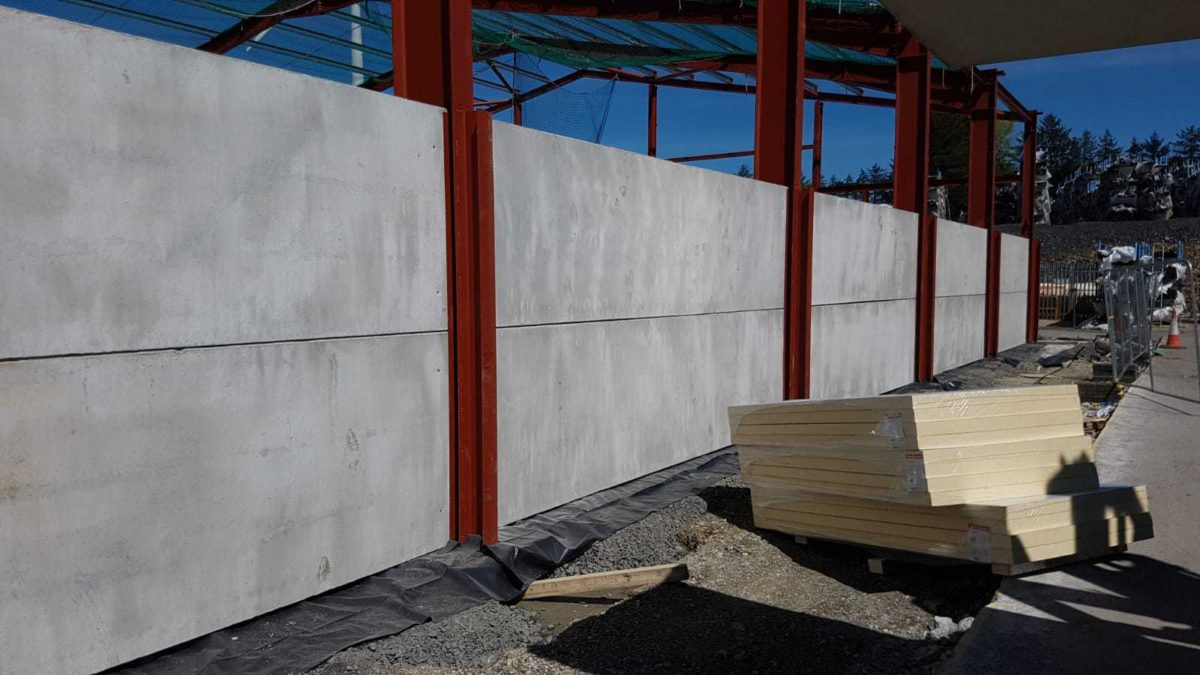 Precast Concrete Walls & Concrete Wall Panels - Croom Concrete Ireland